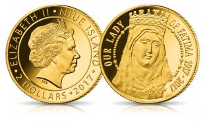 Skarbnica Narodowa Fatima złota moneta